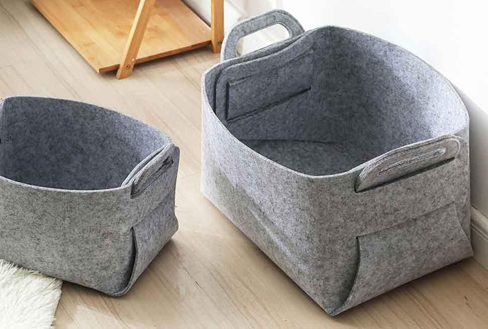 05 felt box grey
