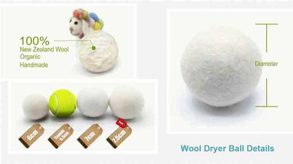 2 tumble dryer balls