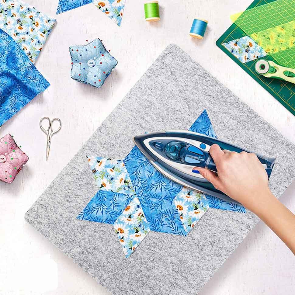 5 wool ironing mat