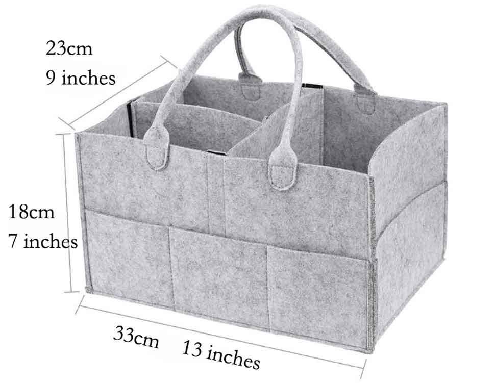 Baby Diaper Caddy Organizer 01 sizes