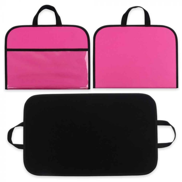 Quiet Book Outer Pink Inner Black