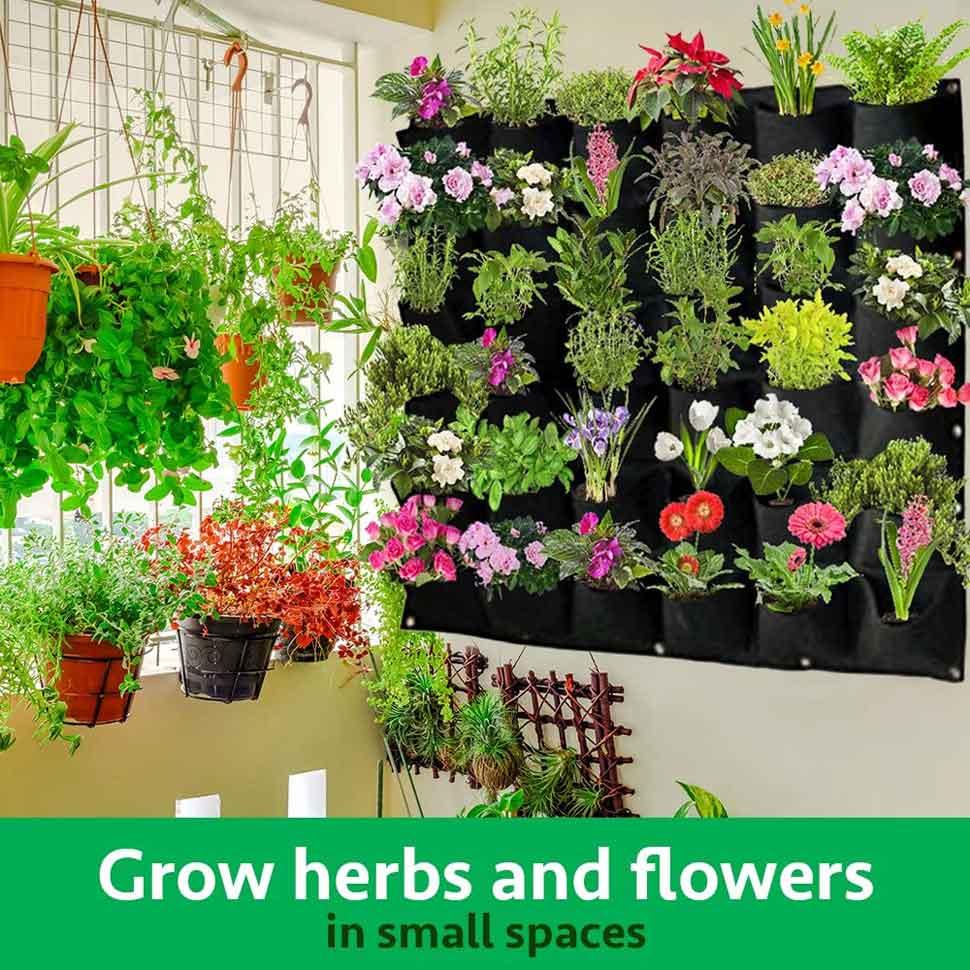 vertical wall planter 2