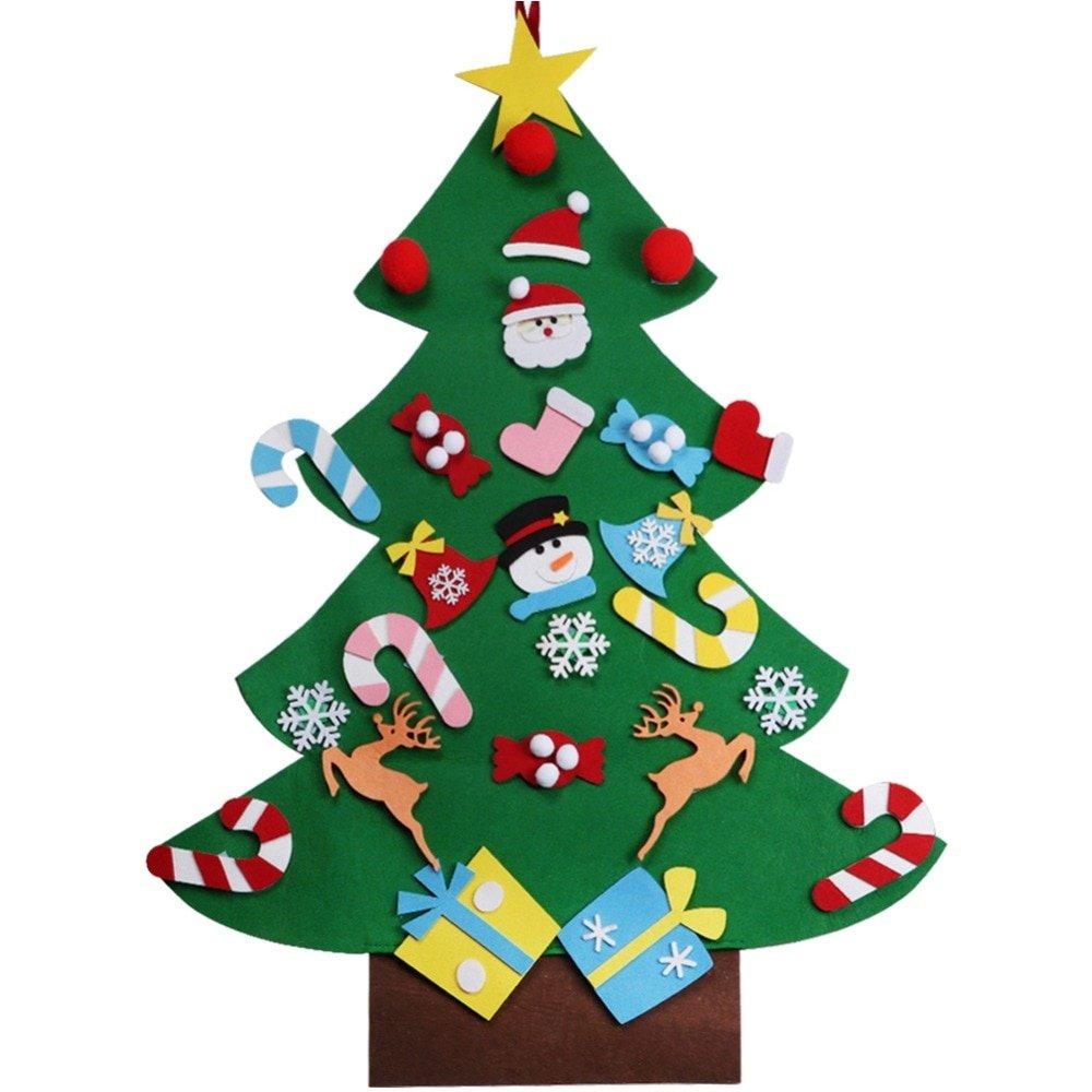 DIY Wall Hanging Felt Christmas Tree Making Kit