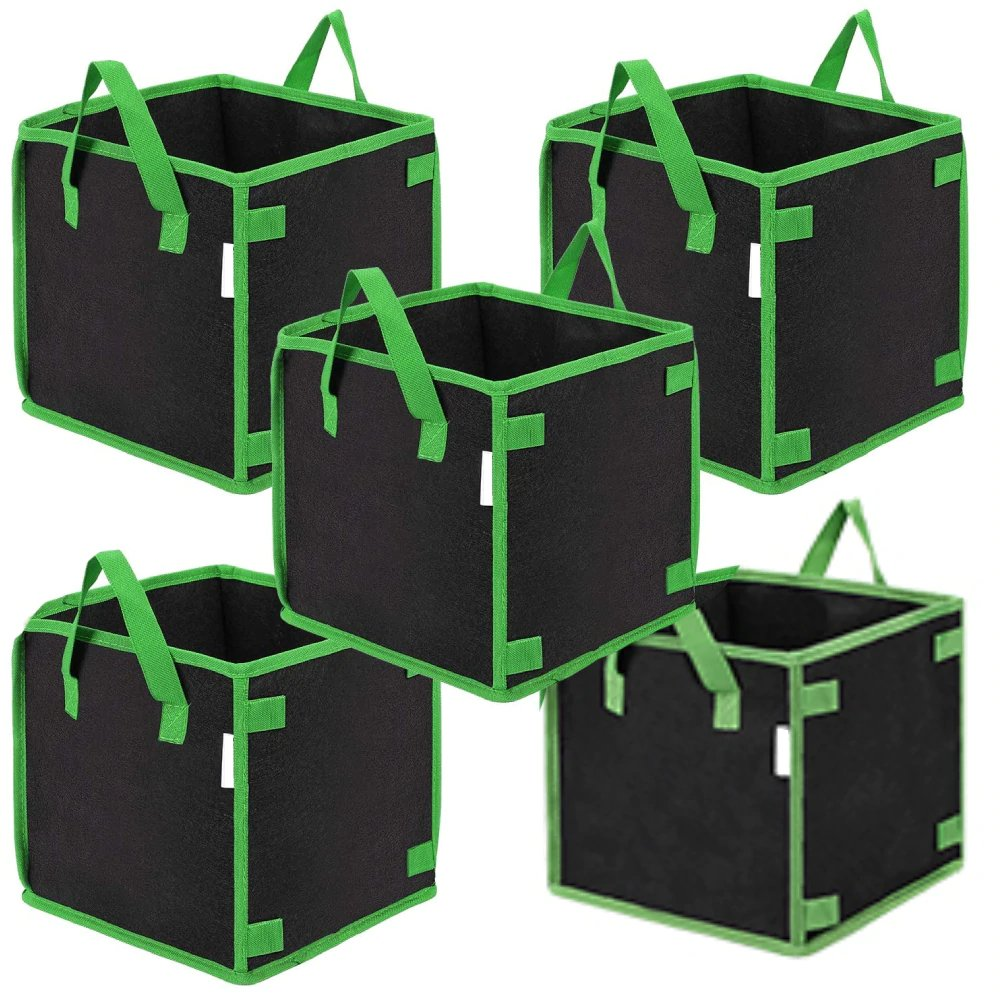 Square Shaped Eco-Friendly Growing Bags