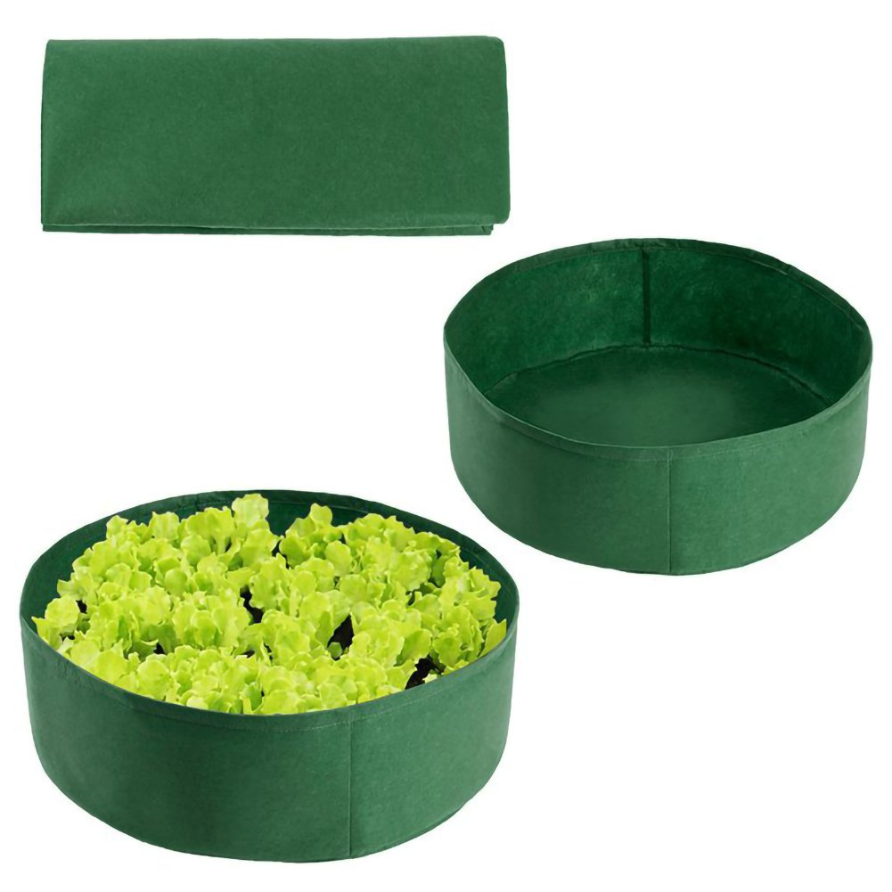 Thick Non-Woven Container for Hydroponics