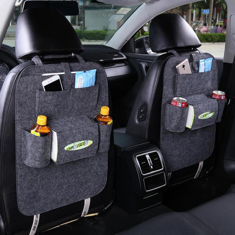 Felt Car Back Seat Organizer