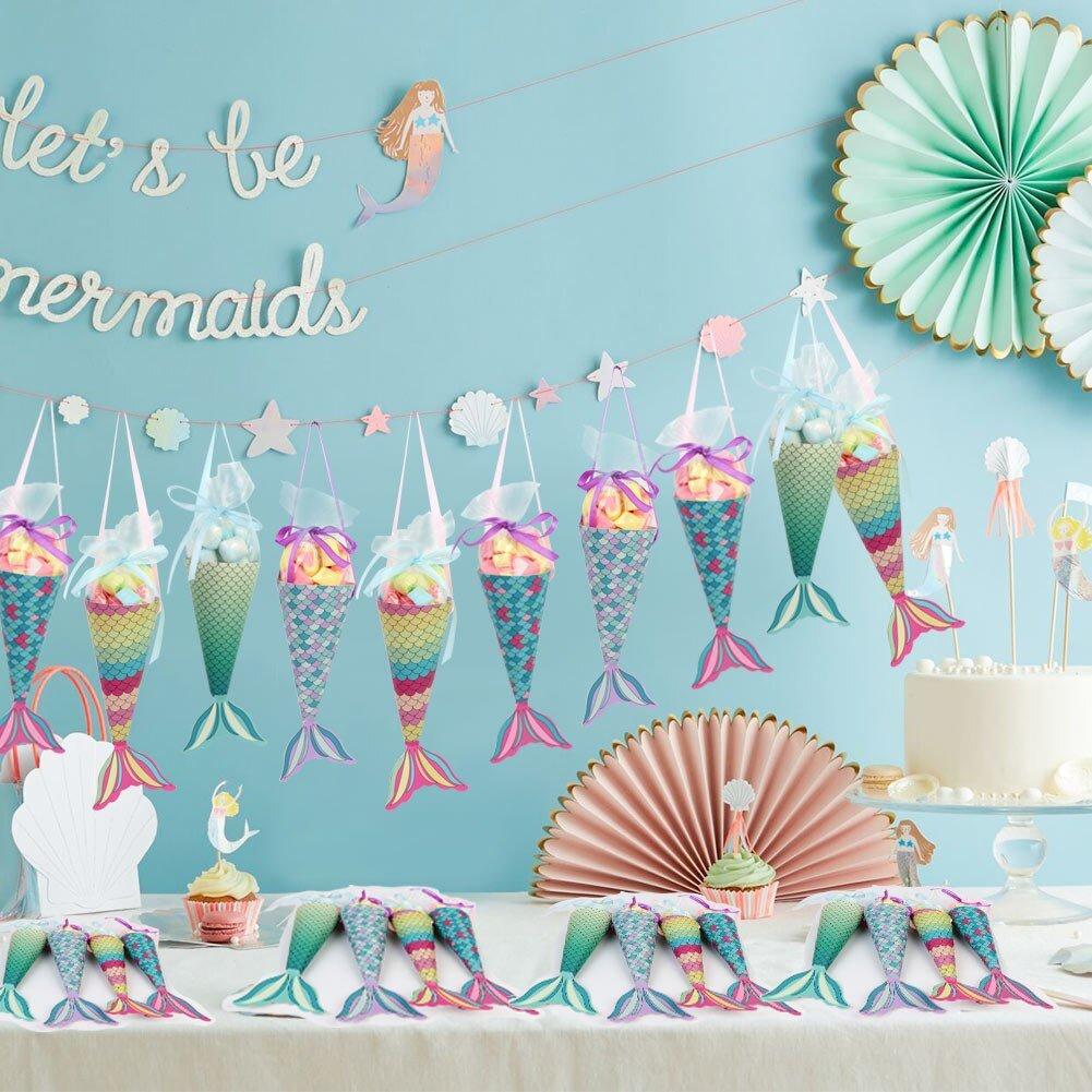 Handmade Felt Craft DIY Mermaid Party Supplies