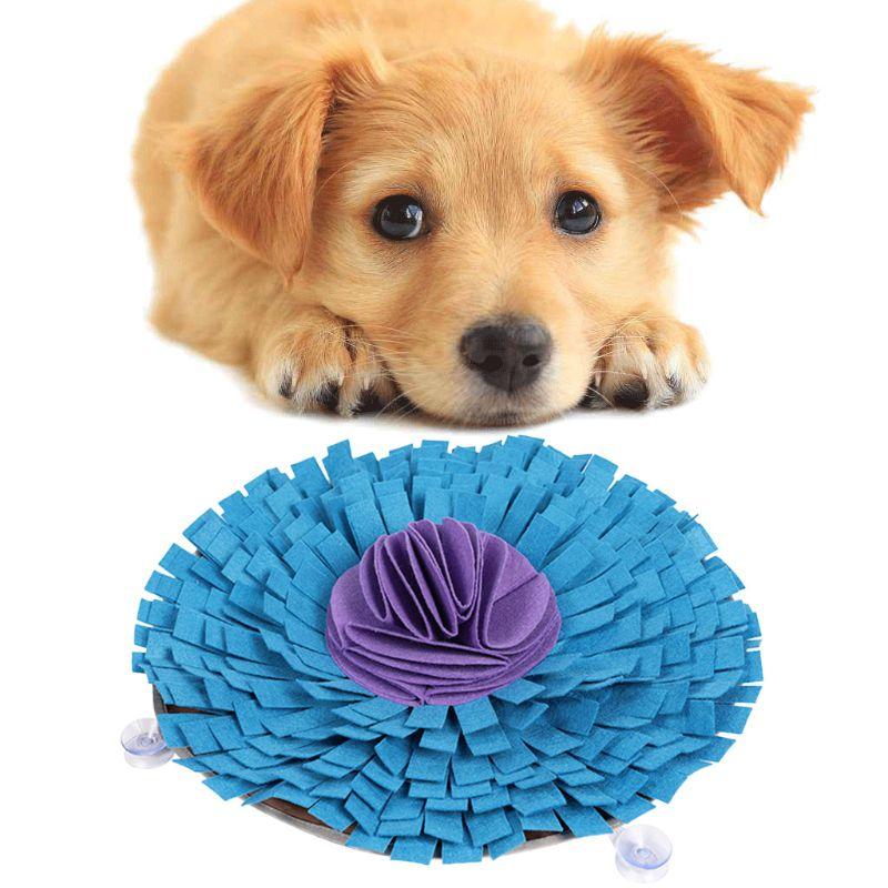 Pet Dog Snuffle Mat Sniffing Pad IQ Foraging Skills Training Food Dispenser Feeding Mats Dogs Treat Slow Feeder Puzzle Toys C42